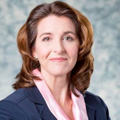 Picture of Kathy Warden, CEO of Northrop Grumman