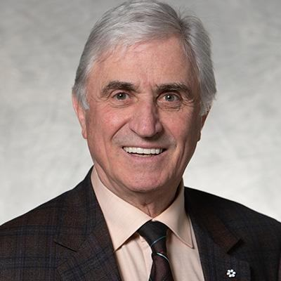 Picture of Gerry Wood C.M., CEO of Wood Automotive Group