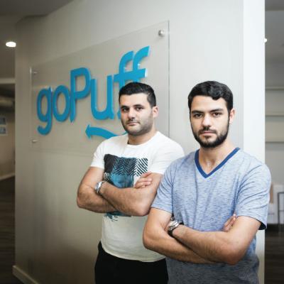 Picture of Yakir Gola and Rafael Ilishayev, CEO of goPuff