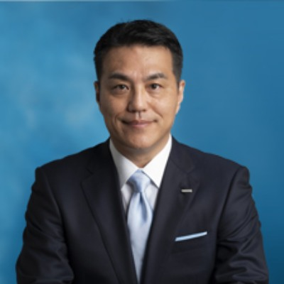 Picture of Yoshihito Yamada, President and CEO, CEO of Omron