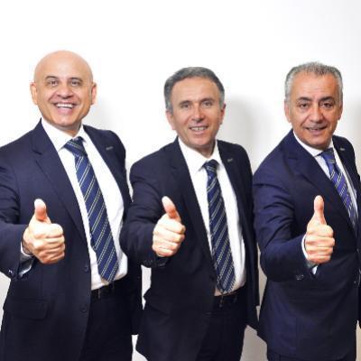 Picture of Flavio Ferrari, Mileto Ferra, Nicola Canino, CEO of Gruppo Tempocasa