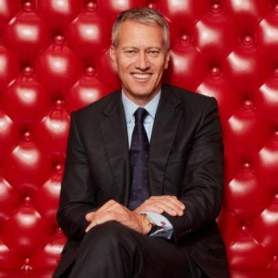 Picture of James Quincey, CEO of The Coca-Cola Company (TCCC)