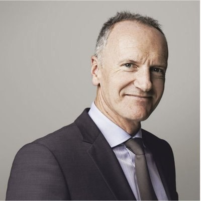Picture of Christophe Cuvillier, CEO of Unibail Rodamco Westfield