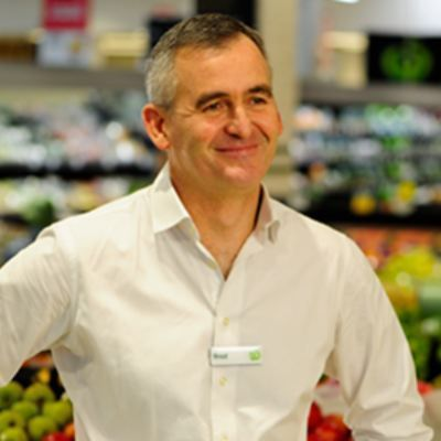Picture of Brad Banducci, CEO of Woolworths Supermarket