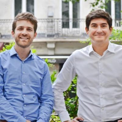 Portrait de Antoine Gentil et Julien Viaud, PDG chez Mômji