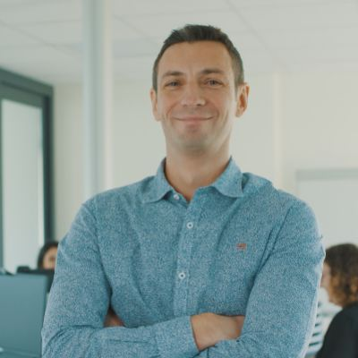 Picture of Edouard LALLE, CEO of Fiderim