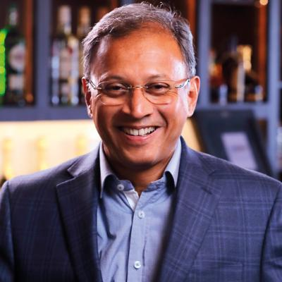 Picture of Mahesh Madhavan, CEO of Bacardi Limited