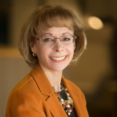 Headshot of Nancy McKinstry, CEO of Wolters Kluwer