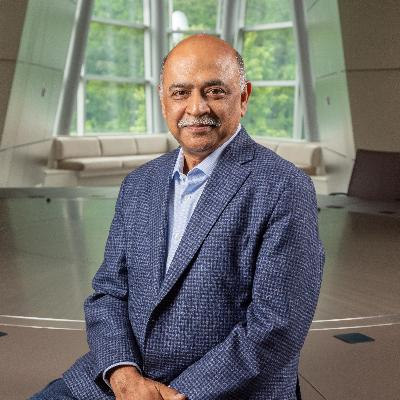 Headshot of Arvind Krishna, CEO of IBM