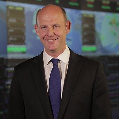 Picture of Rupert Pearce, CEO of Inmarsat