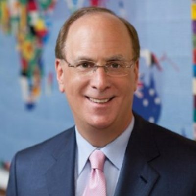 Picture of Larry Fink, CEO of BlackRock Inc.