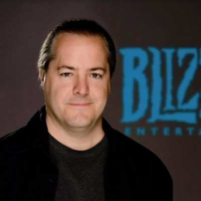 Picture of J. Allen Brack, CEO of Blizzard Entertainment
