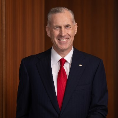 Picture of Jim Fitterling, CEO of The Dow Chemical Company