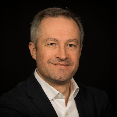 Picture of Gilles Combe, CEO of Generale De Telephone