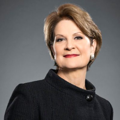 Picture of Marillyn Hewson, CEO of Lockheed Martin