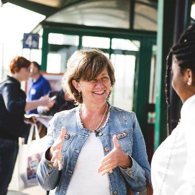 Picture of Sophie Dutordoir, CEO of NMBS