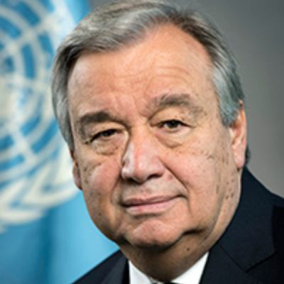 Picture of António Guterres, CEO of United Nations