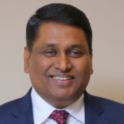 Headshot of C Vijayakumar, CEO of HCL Technologies