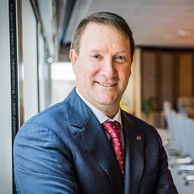 Picture of Louis Vachon, CEO of Banque Nationale Du Canada