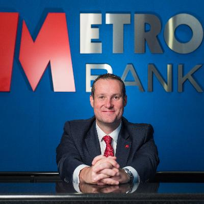 Picture of Craig Donaldson, CEO of Metro Bank PLC