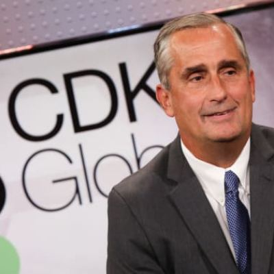 Picture of Brian Krzanich, CEO of CDK Global