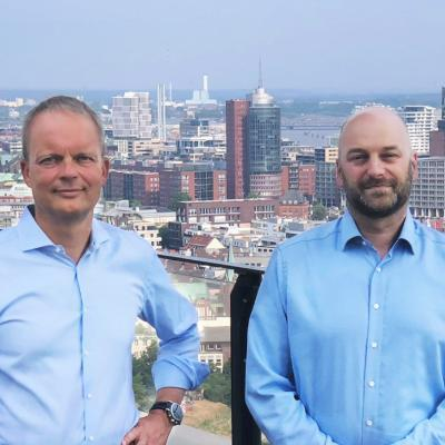 Picture of Henk Knaupe & Manuel Becker-Drobnjak, CEO of Sales Port GmbH