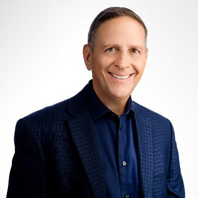 Headshot of Mike Gianoni, CEO of Blackbaud