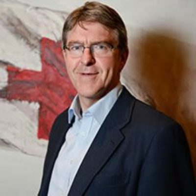 Picture of Mike Adamson, CEO of British Red Cross