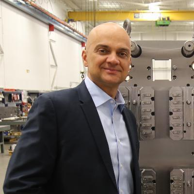 Picture of Vince Travaglini, P.Eng, CEO of StackTeck