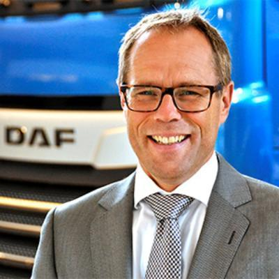 Picture of Harry Wolters, CEO of DAF Trucks