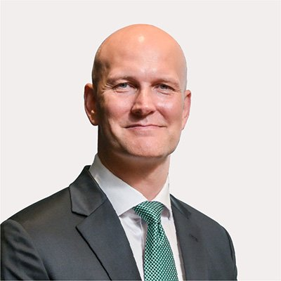 Picture of Thomas Knudsen, CEO of Toll Group
