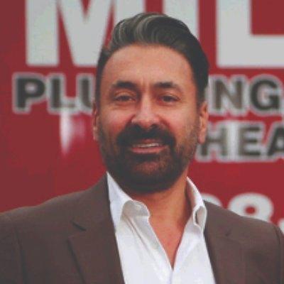 Headshot of Vern Milani, CEO of Milani Plumbing Heating & Air Conditioning Ltd.
