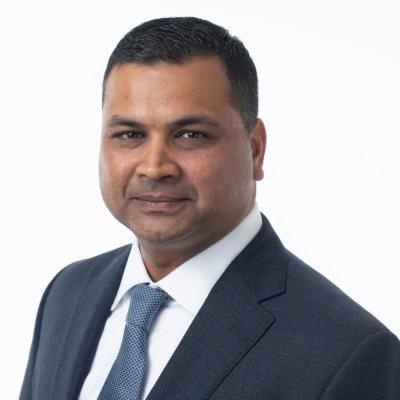 Headshot of Nitin Jain, CEO of Sienna Senior Living