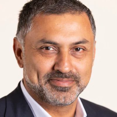 Picture of Nikesh Arora, CEO of Palo Alto Networks