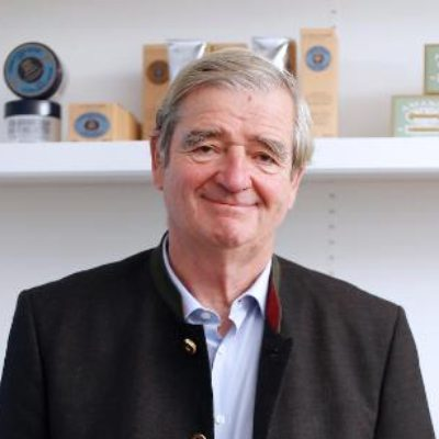Picture of Reinold Geiger, CEO of L'Occitane