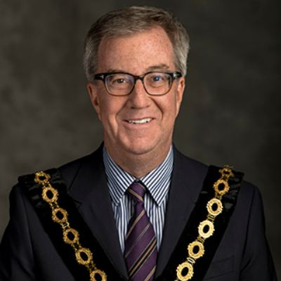 Picture of Mayor Jim Watson, CEO of Ville d'Ottawa