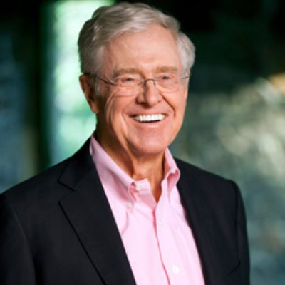 Picture of Charles G. Koch, CEO of Koch Industries