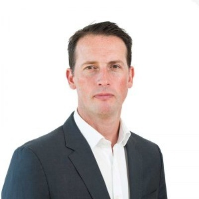 Picture of Andy McCue, CEO of Frankie and Benny's