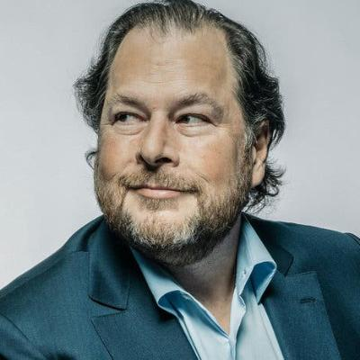 Picture of Marc Benioff, CEO of Salesforce