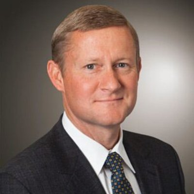 Picture of John May , CEO of John Deere
