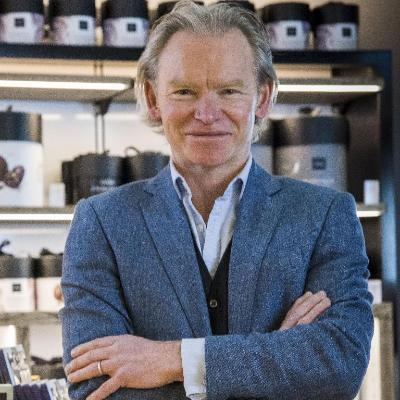 Picture of Angus Thirlwell, CEO of Hotel Chocolat