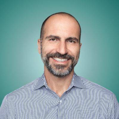 Headshot of Dara Khosrowshahi, CEO of Uber Drivers