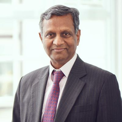 Picture of Mahesh Patel, CEO of Minster Care Group