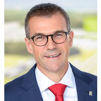 Picture of Andreas Schell, CEO of Rolls-Royce Power Systems AG