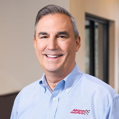 Headshot of Tom Greco, CEO of Advance Auto Parts