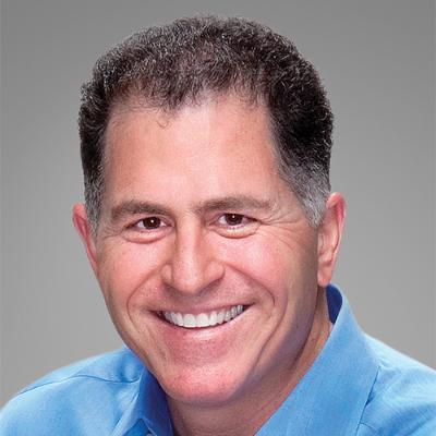 Picture of Michael Dell, CEO of 戴爾