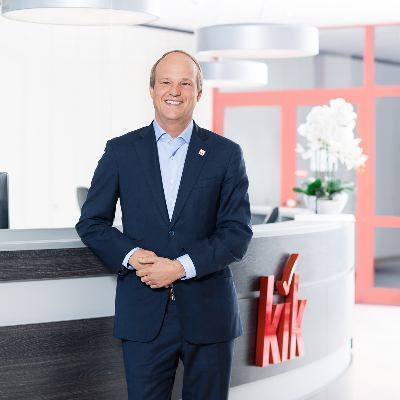 Picture of Patrick Zahn, CEO of KIK Textilien und Non-Food GmbH