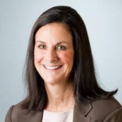 Picture of Valerie Asbury, CEO of LifeScan