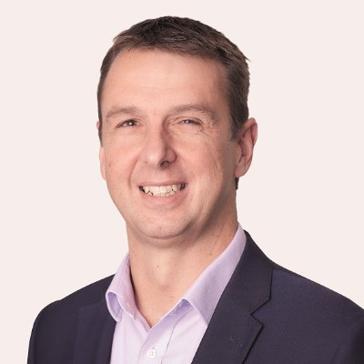 Picture of Alex Vaughan, CEO of Costain