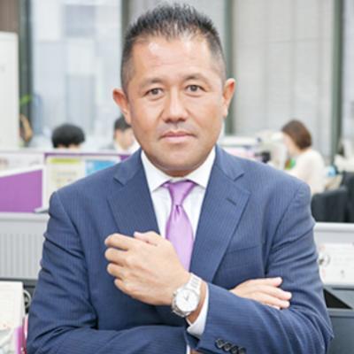 株式会社フェローズの経営者野儀 健太郎氏の顔写真